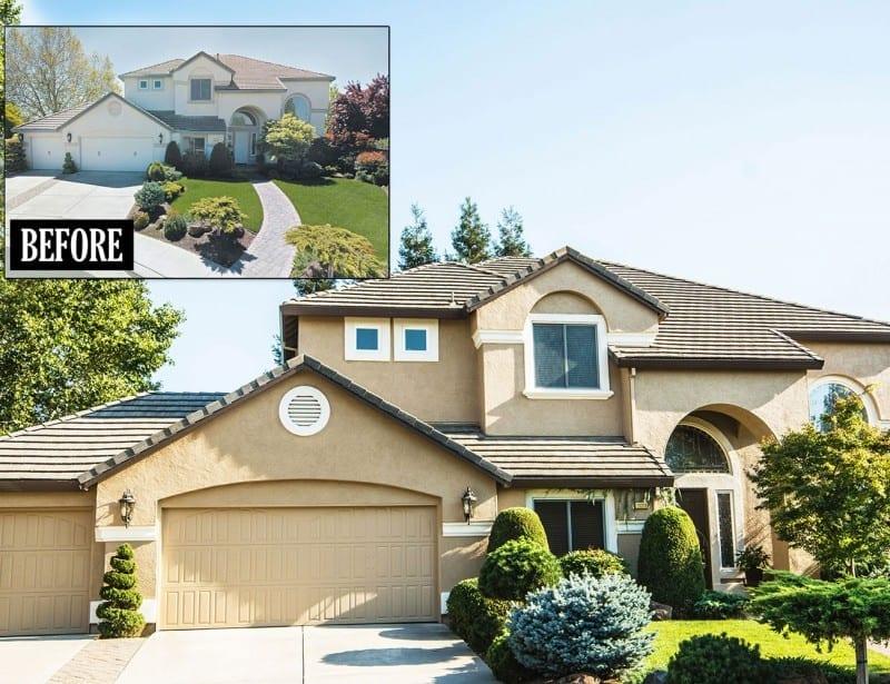 Sacramento exterior home painting