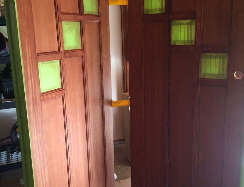 Front Door Stain