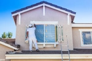 How long does it take to paint the outside of a house?