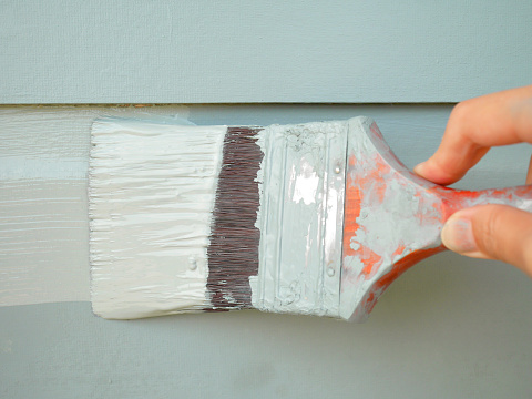 For Exterior Paint To Dry