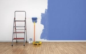 How often should you repaint interior walls?