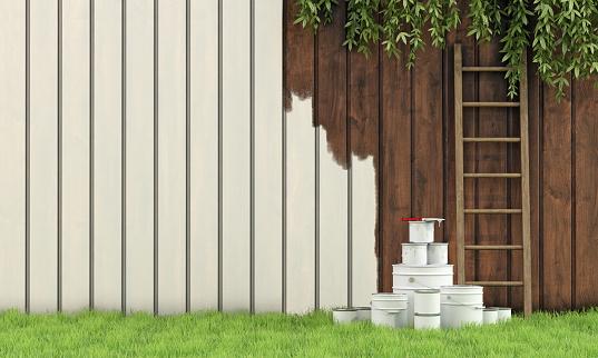 Fence Painters Elk Grove CA