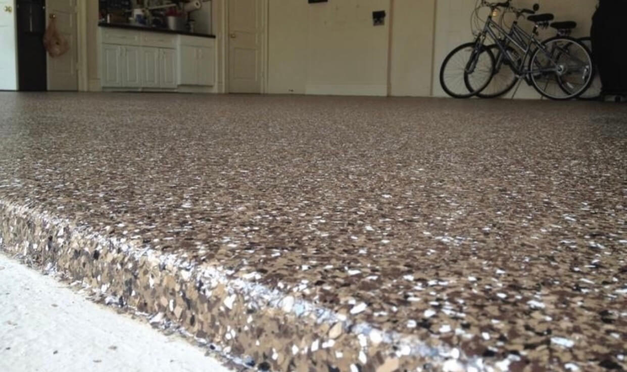 Professional Epoxy Flooring in garage