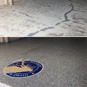 Epoxy flooring photo