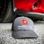 Garage Floor Epoxy With PaintRite Pros Hat