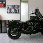 Epoxy Garage Floor with Motorcycle